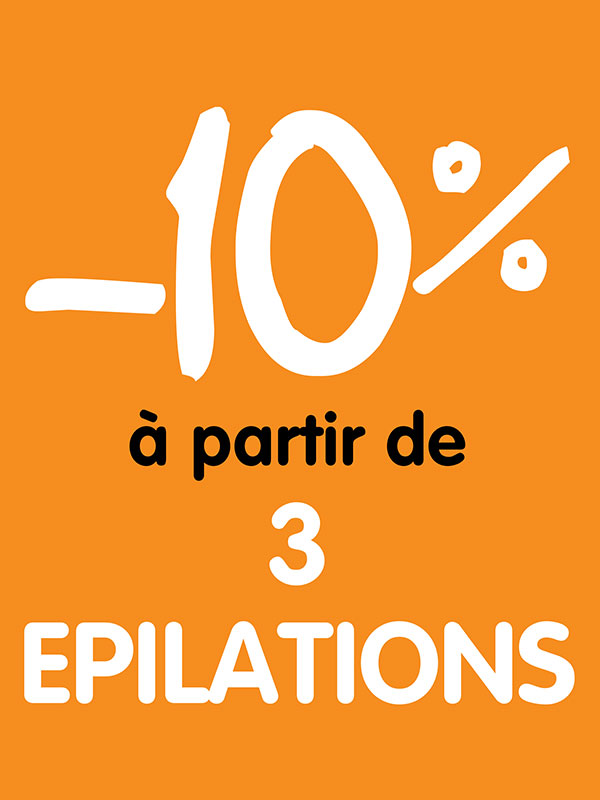 -10% épilations -  esthetic for you