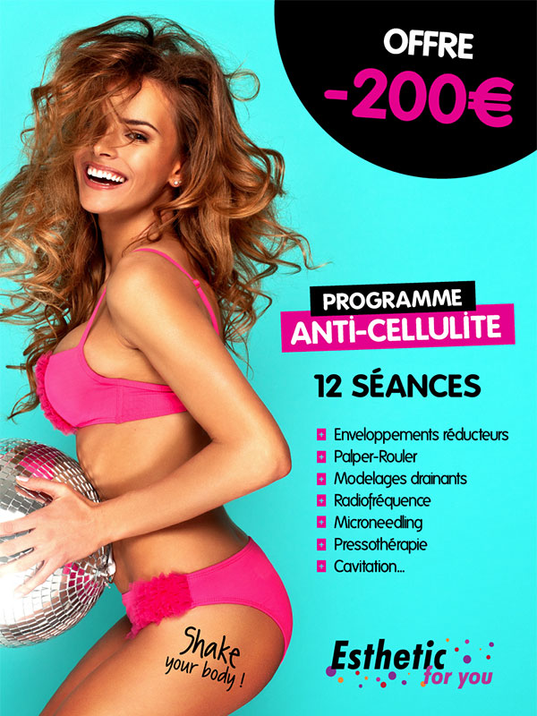 Offre programme cellulite -  esthetic for you