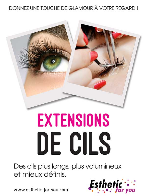 Extension de cils Rodez et Millau -  esthetic for you