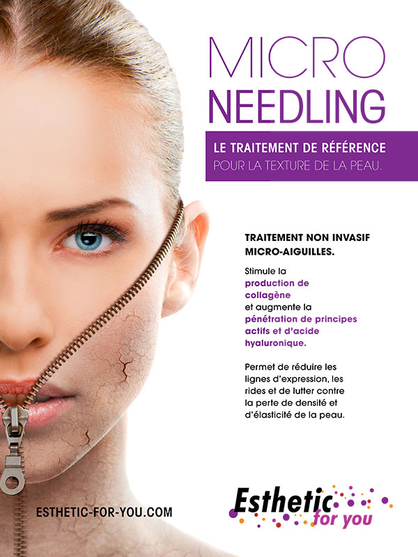 Microneedling -  esthetic for you Rodez et Millau