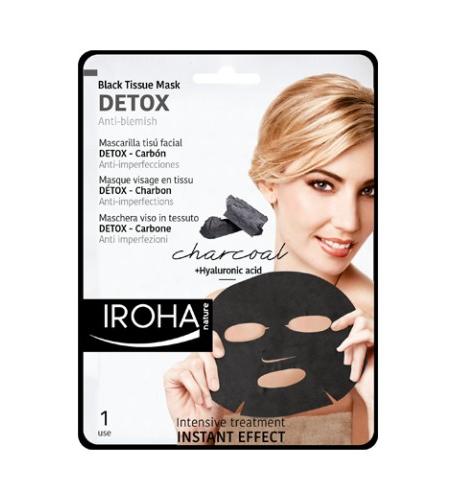 IROHA DETOX – Masque Au Charbon De Bois – Détox